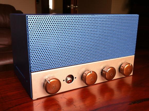 Vintage amp overhaulin' Vintage amp overhaulin' ampafterrestoration