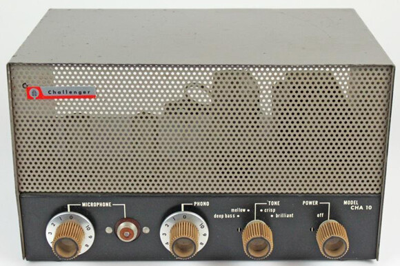 Vintage amp overhaulin' Vintage amp overhaulin' bogen challenger cha10