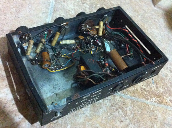 Vintage amp overhaulin' Vintage amp overhaulin' oldamp2