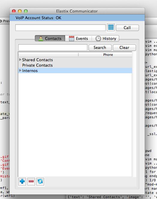 Un softphone libre para Elastix (o algo parecido) Un softphone libre para Elastix (o algo parecido) Screen Shot 2013 05 28 at 4