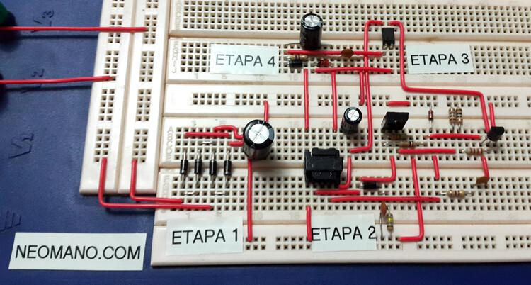 protoboard {focus_keyword} Ingeniería inversa y análisis de un cargador USB de 2 amperios protoboard