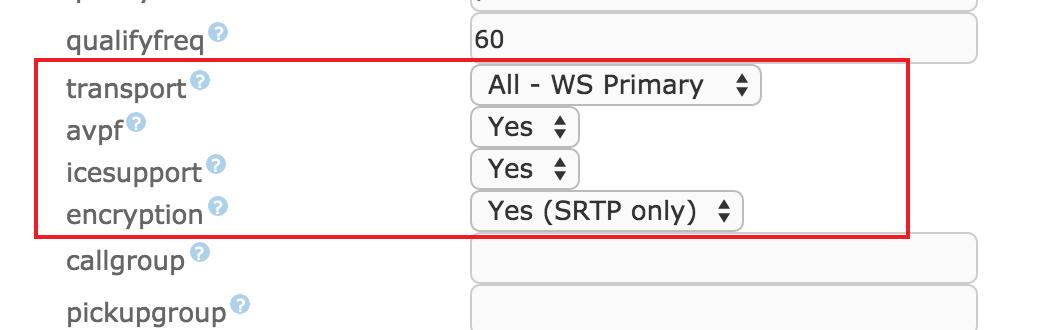 opciones {focus_keyword} Probando WebRTC en Elastix 4 (paso a paso) opciones