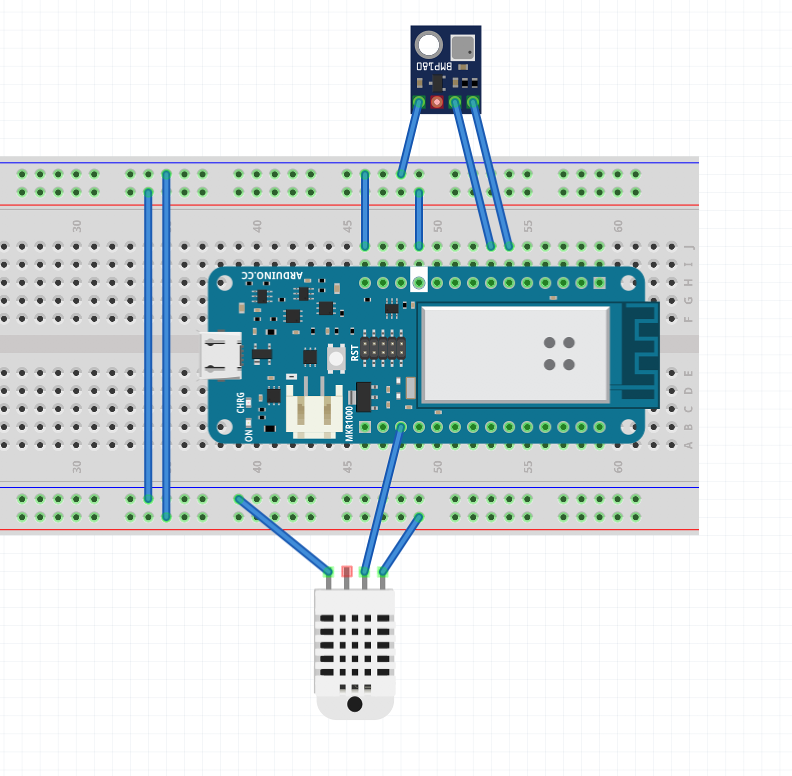 Fritzing {focus_keyword} Estación meteorológica con Arduino MKR1000 Screen Shot 2017 07 16 at 7