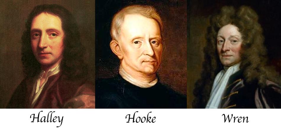 newton apuesta La casi desconocida apuesta que cambió la historia de la humanidad halley hooke wren