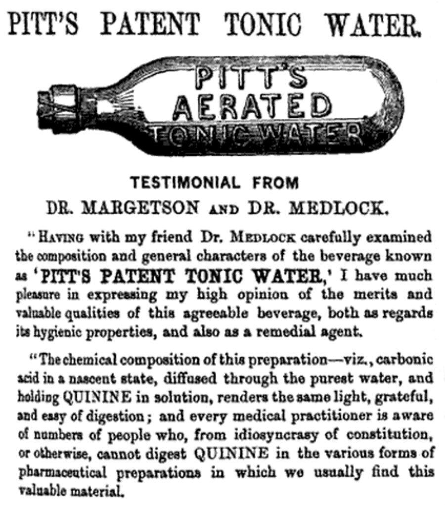 {focus_keyword} La milagrosa cura contra el paludismo que se convirtió en gin-tonic agua tonica